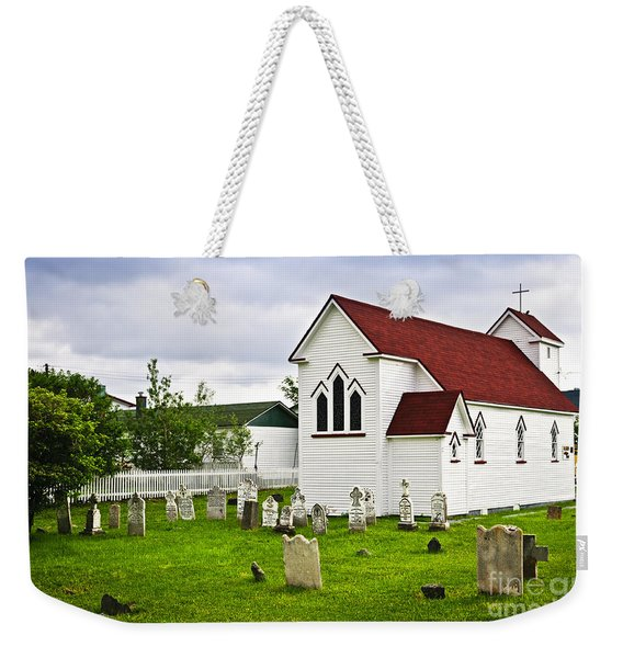 St. Luke's Church In Placentia Newfoundland Weekender Tote Bag