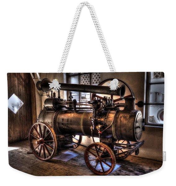 Steam Engine Weekender Tote Bag