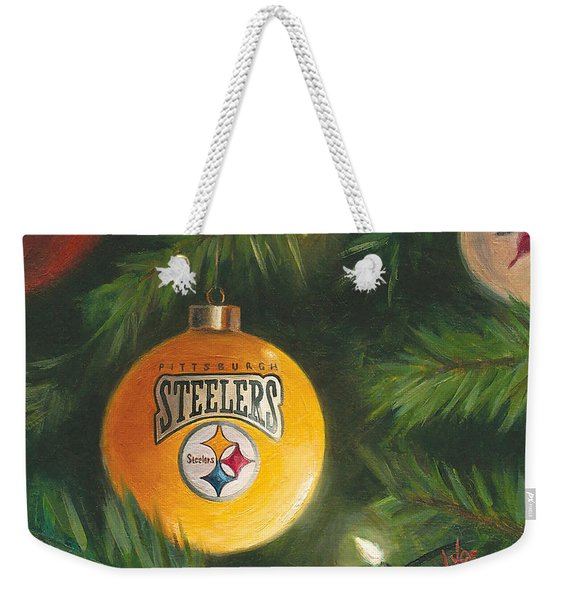 Steelers Ornament Weekender Tote Bag