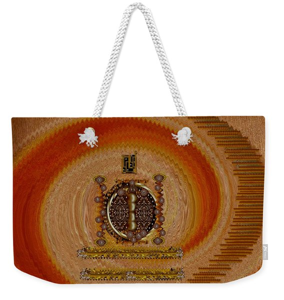 Step Into The Rainbow Temple Weekender Tote Bag