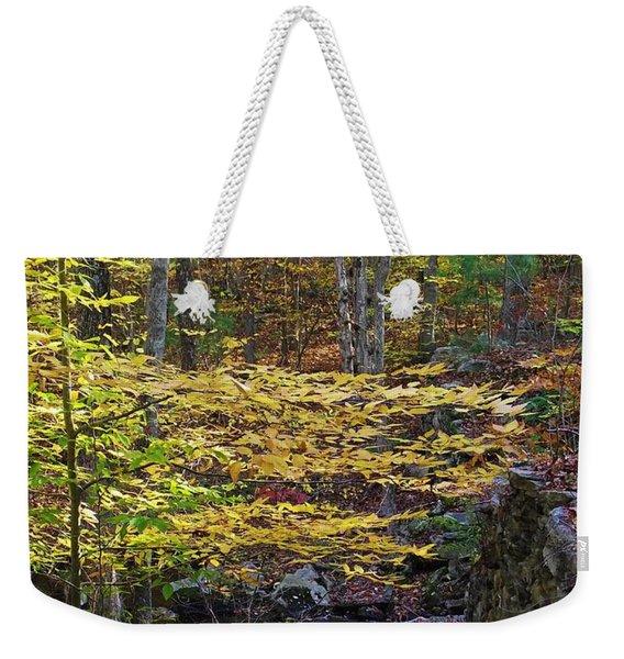 Stonewall In The Woods Weekender Tote Bag