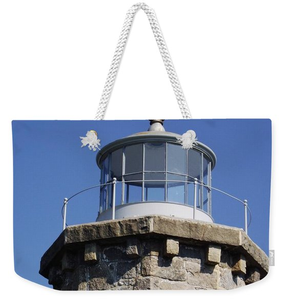 Stonington Lighthouse  Weekender Tote Bag