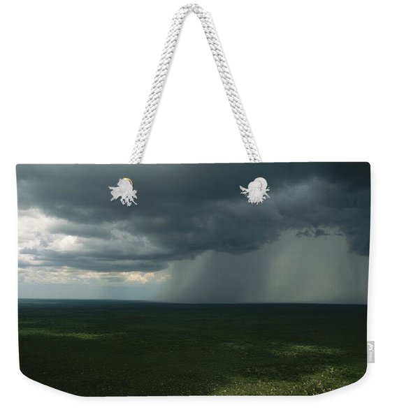 Storm Clouds Over The South African Weekender Tote Bag
