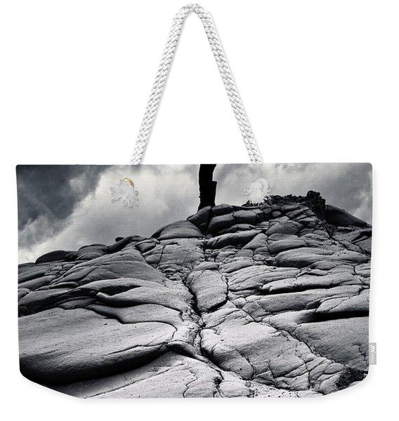 Stormy Silhouette Weekender Tote Bag