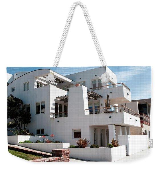 Strand Architecture Manhattan Beach Weekender Tote Bag