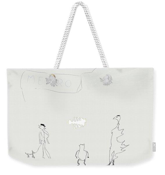Street Apparition Weekender Tote Bag