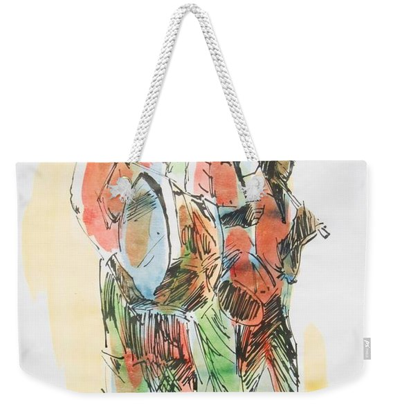 Street Band Weekender Tote Bag