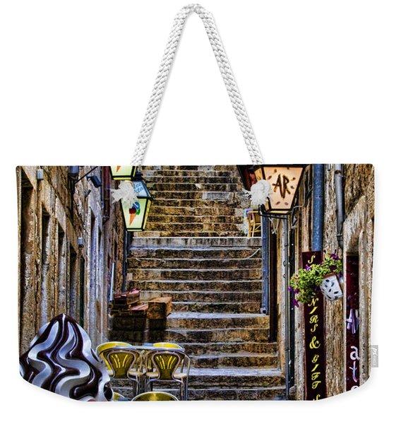 Street Lane In Dubrovnik Croatia Weekender Tote Bag