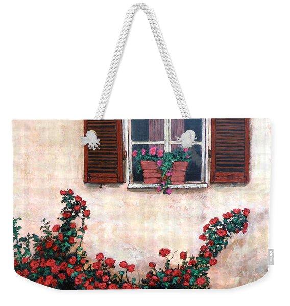Studio Window Weekender Tote Bag
