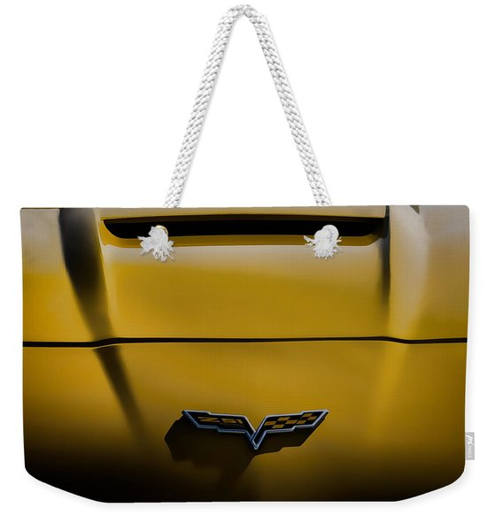 Study In Yellow Weekender Tote Bag