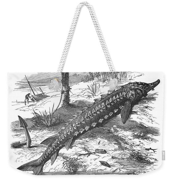 Sturgeon Weekender Tote Bag
