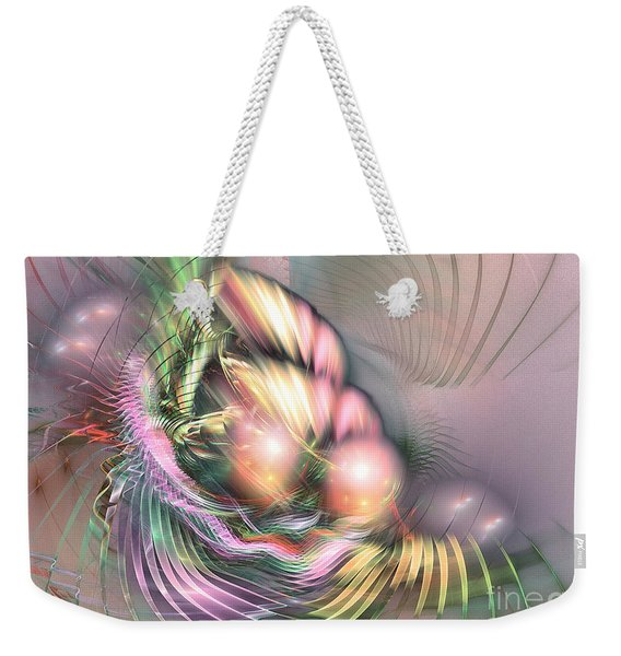 Summer Breeze -abstract Art Weekender Tote Bag