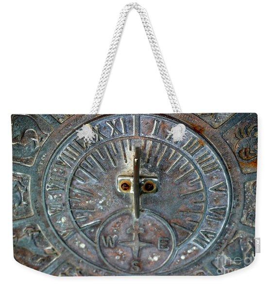 Sundial Weekender Tote Bag