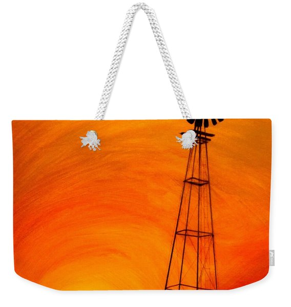Sunset Weekender Tote Bag