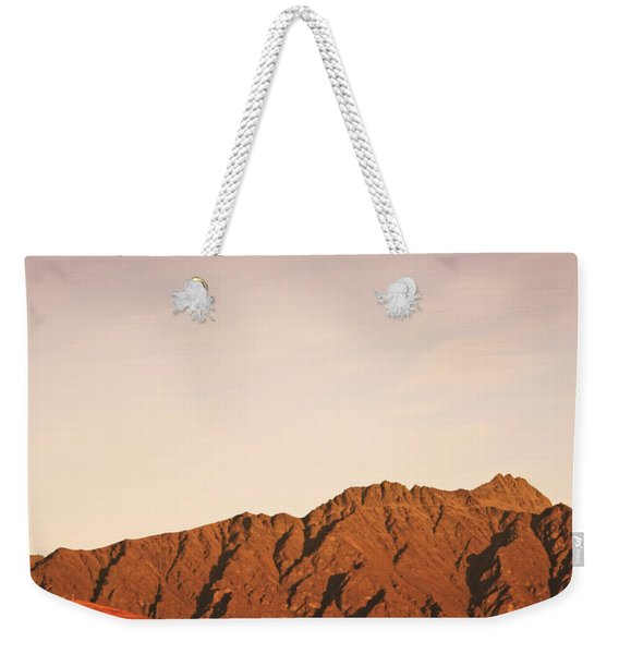 Sunset Mountain 2 Weekender Tote Bag