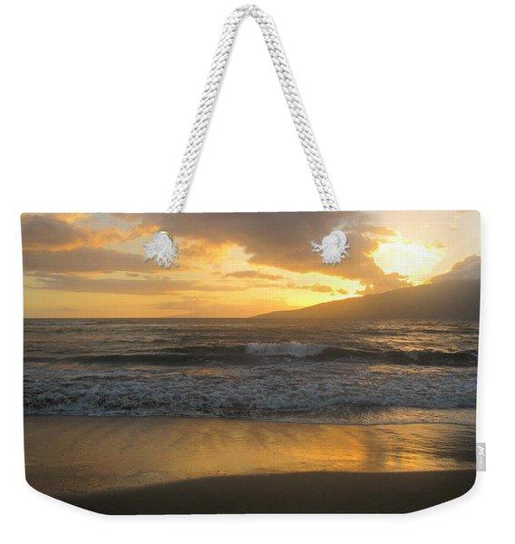 Sunset On Maui Weekender Tote Bag