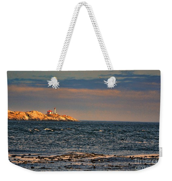 Sunset Over British Columbia Weekender Tote Bag