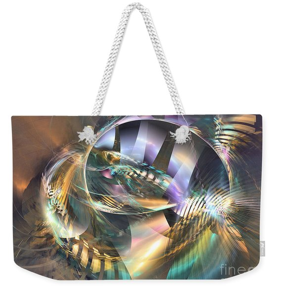 Symphony Of Colors - Abstract Art Weekender Tote Bag