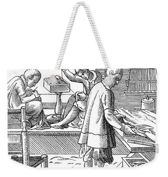 Tailors, 16th Century Weekender Tote Bag