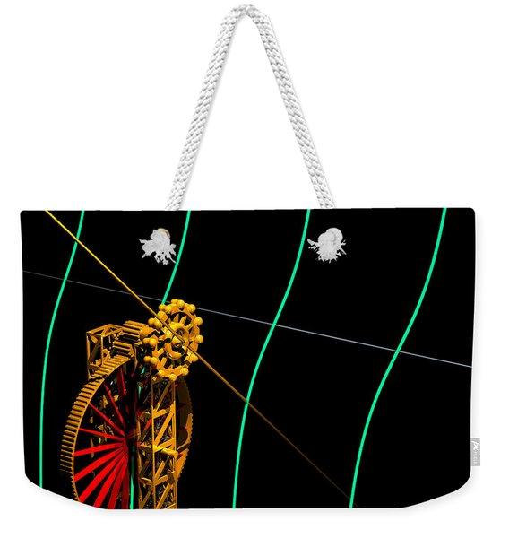 Tangent Graph Math Engine Weekender Tote Bag