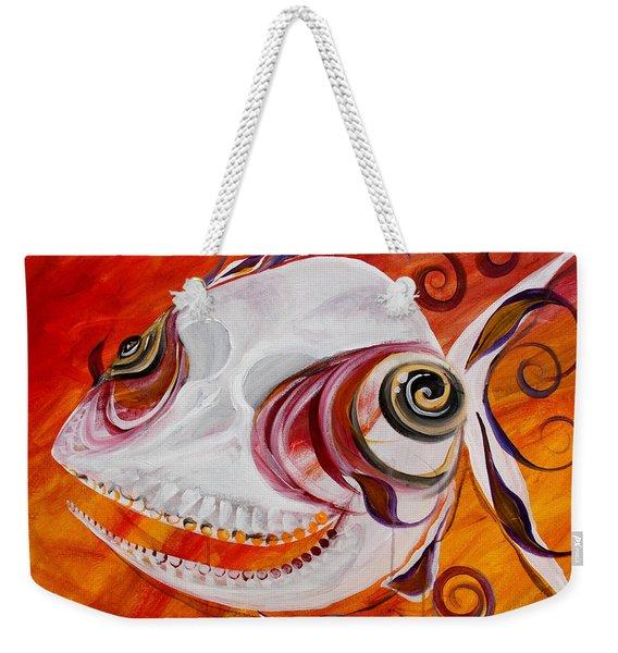 T.b. Chupacabra Fish Weekender Tote Bag