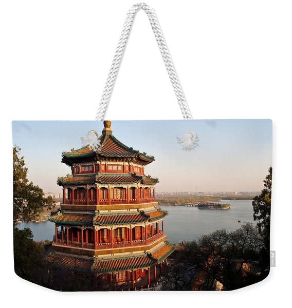 Temple Of The Fragrant Buddha Weekender Tote Bag