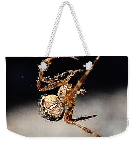 Tending The Web Invisible Weekender Tote Bag
