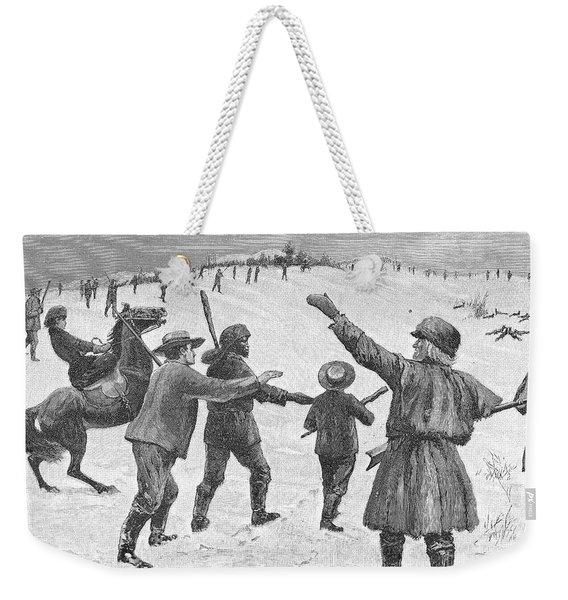 Tennessee: Fox Hunt, 1891 Weekender Tote Bag
