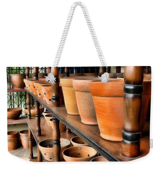 Terracotta Ranks Weekender Tote Bag
