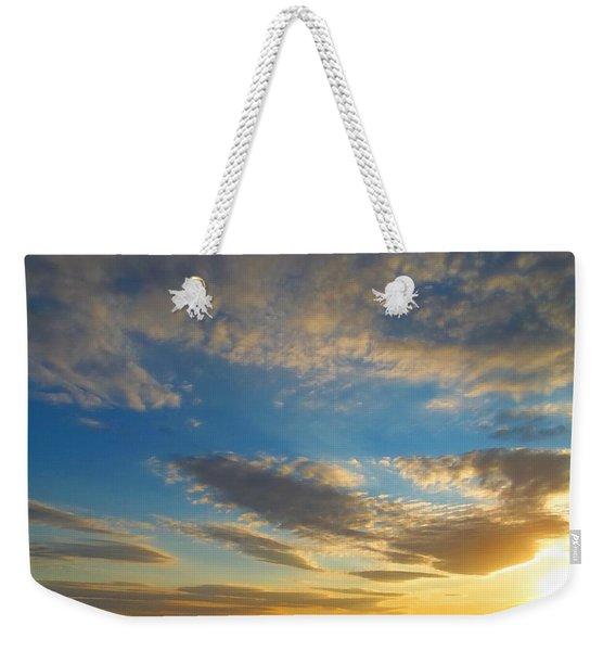 Texas Sized Sunset Weekender Tote Bag