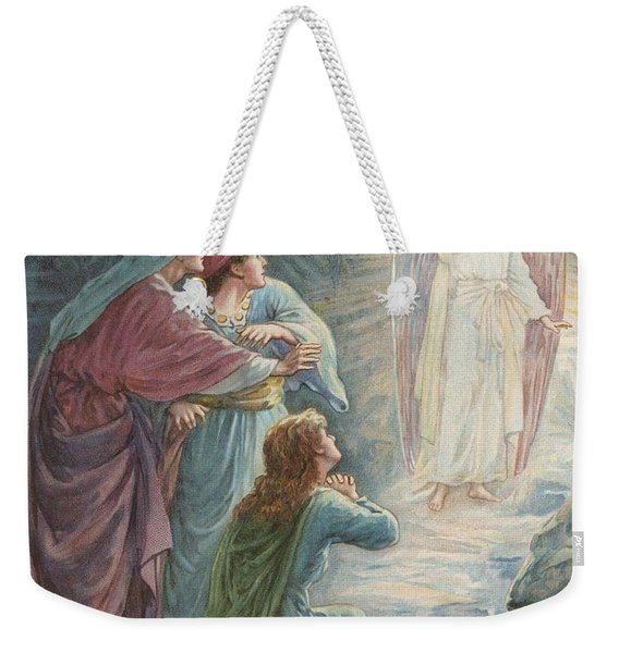The Appearance Of The Angel Weekender Tote Bag