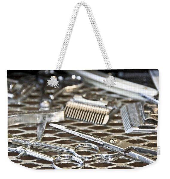 The Barber Shop 10 Weekender Tote Bag