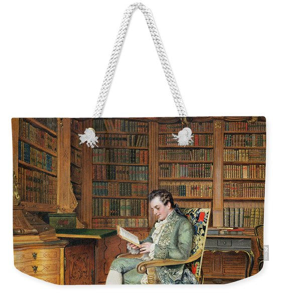The Bibliophile Weekender Tote Bag