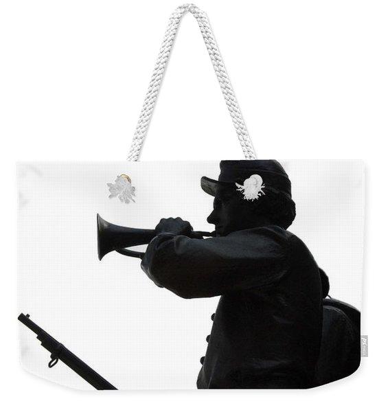The Bugler Weekender Tote Bag