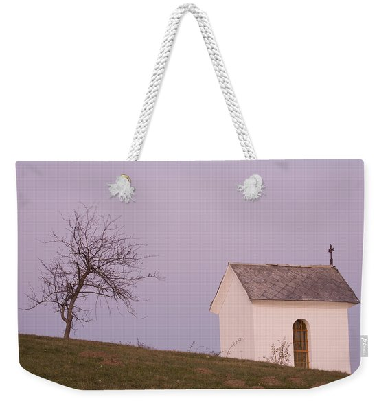 The Chapel On The Hill Weekender Tote Bag