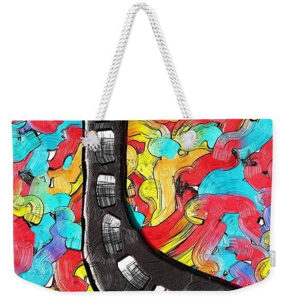 The Color Highway Weekender Tote Bag