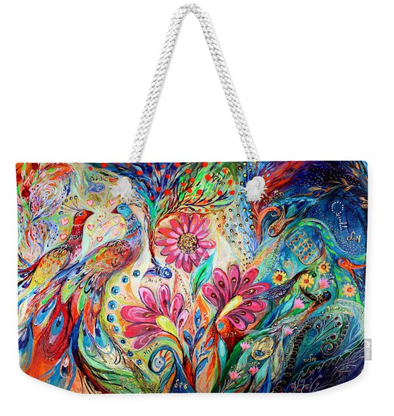 The Colors Of Day Weekender Tote Bag