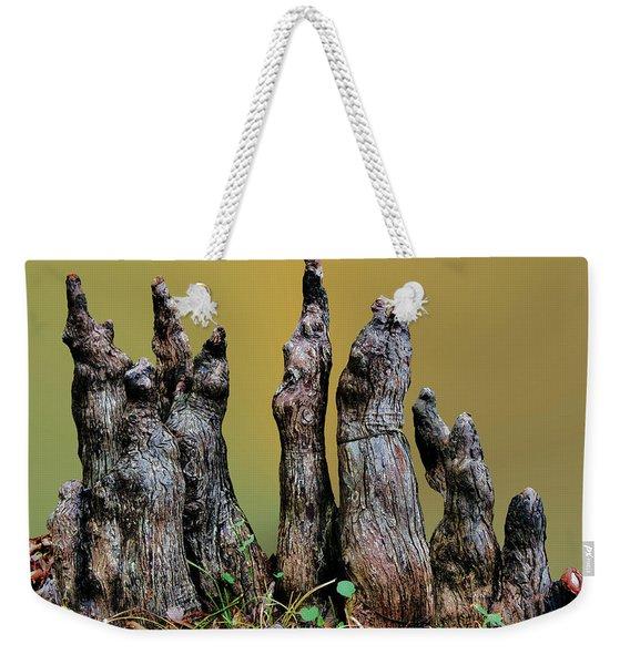 The Cypress Knees Chorus Weekender Tote Bag