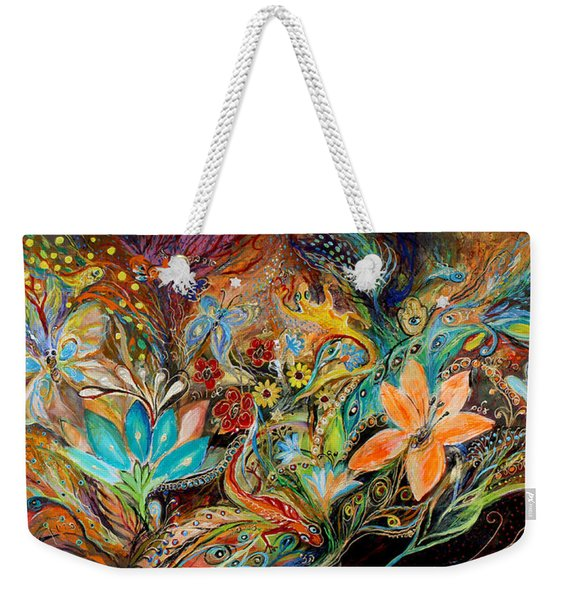 The Dance Of Lizards Weekender Tote Bag