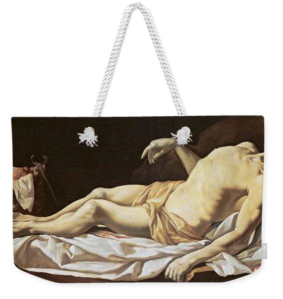 The Dead Christ Weekender Tote Bag