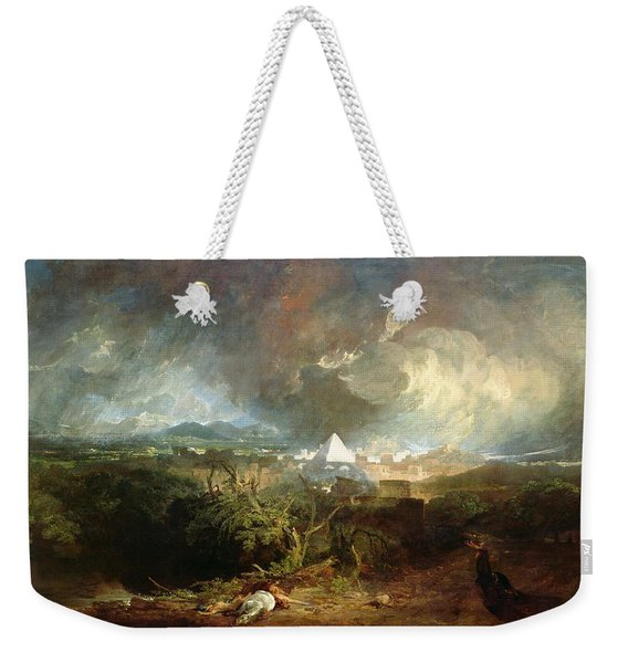 The Fifth Plague Of Egypt Weekender Tote Bag