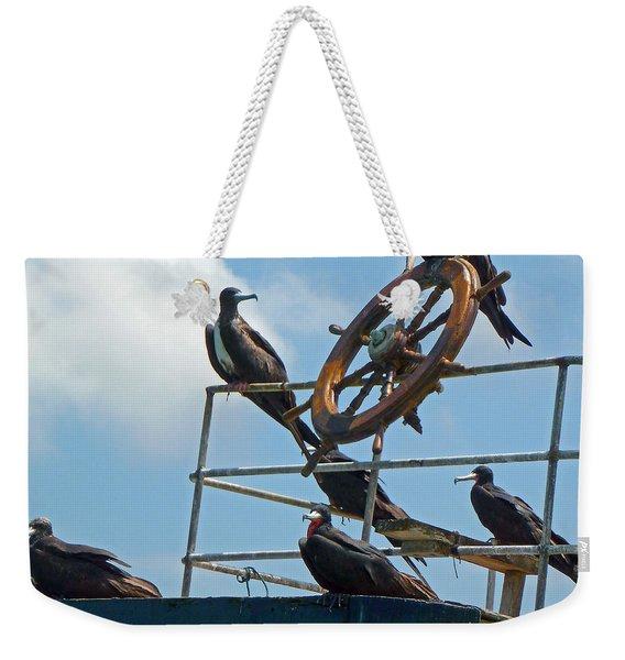 The Frigate Crew Weekender Tote Bag