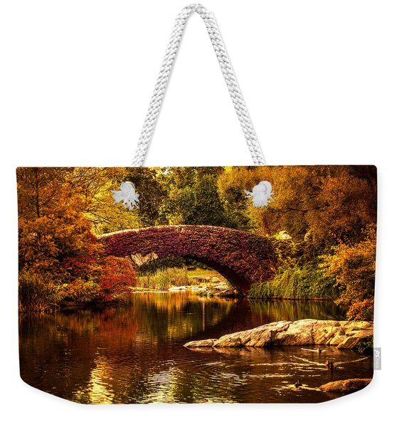 The Gapstow Bridge Weekender Tote Bag