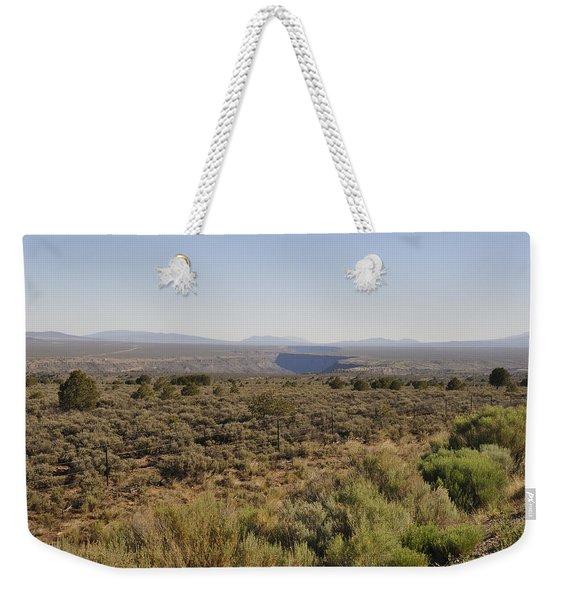 The Gorge On The Mesa Weekender Tote Bag