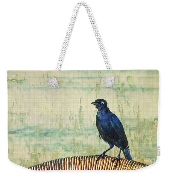 The Grackle Weekender Tote Bag