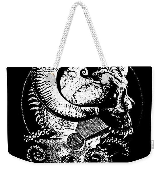 The Great Horned Secret  Weekender Tote Bag