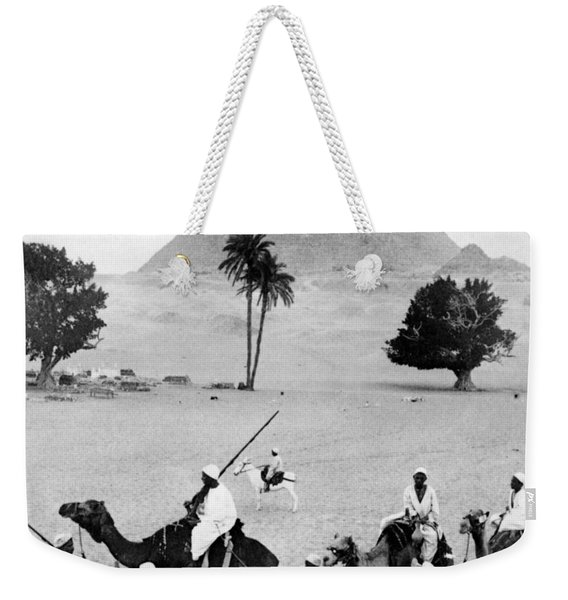 The Great Pyramid Of Giza - Egypt - C 1904 Weekender Tote Bag