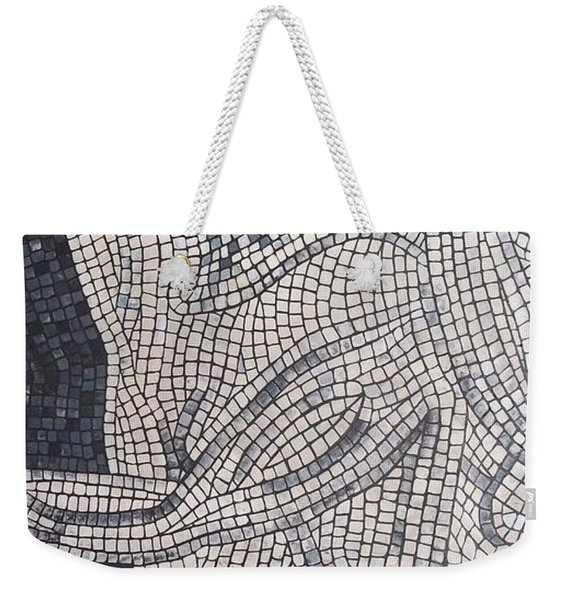 Weekender Tote Bag featuring the painting The Hunter by Cynthia Amaral
