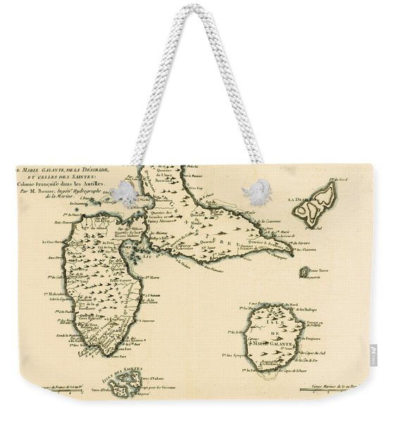 The Islands Of Guadeloupe Weekender Tote Bag