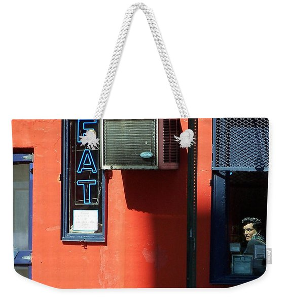 The King Lives Weekender Tote Bag